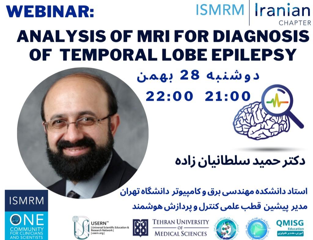webinar Analysis of MRI for Diagnosis of Temporal Lobe Epilepsy