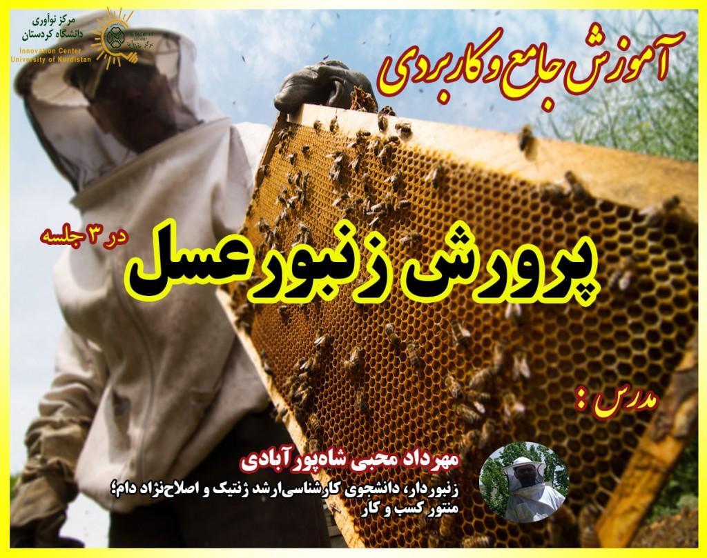 وبینار پرورش زنبورعسل