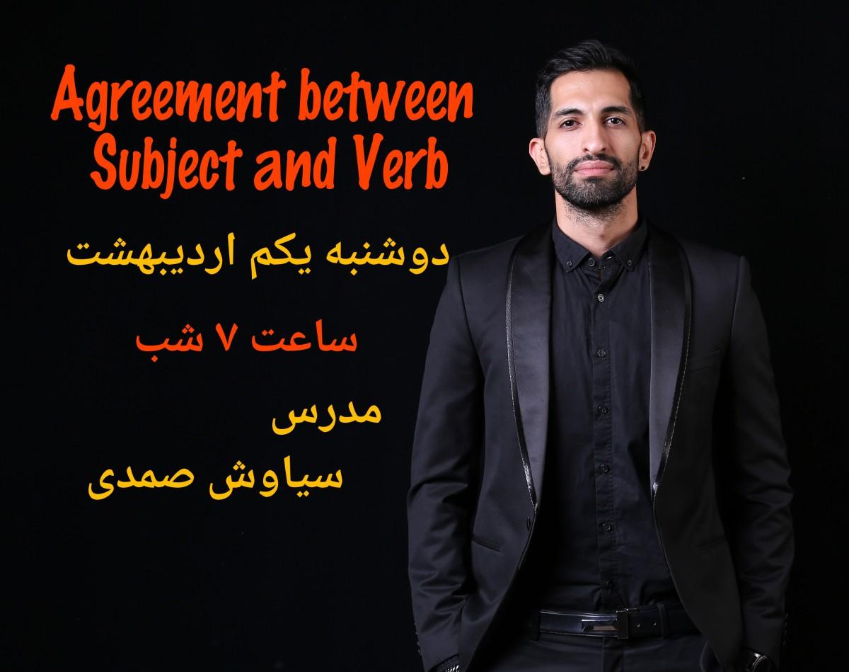 وبینار Agreement in Grammar