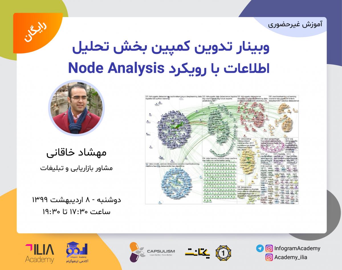 وبینار تدوین کمپین بخش تحلیل اطلاعات با رویکرد Node Analysis
