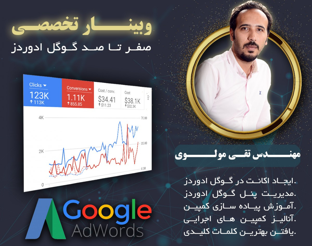 آموزش صفر تا 100 گوگل ادوردز بصورت کاربردی