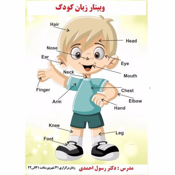 وبینار زبان کودک