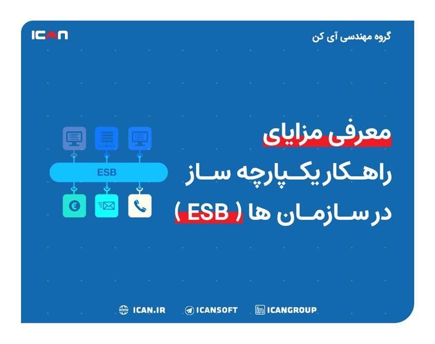 وبینار معرفی مزایای راهکار یکپارچه ساز در سازمان ها (ESB)