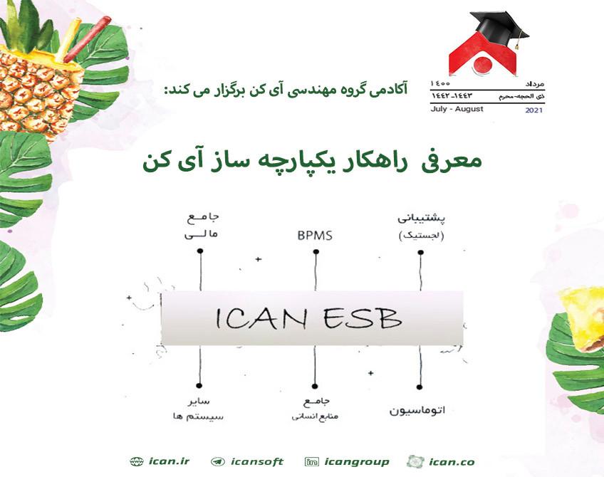 وبینار معرفی  راهکار یکپارچه ساز آی کن  (ICAN ESB)
