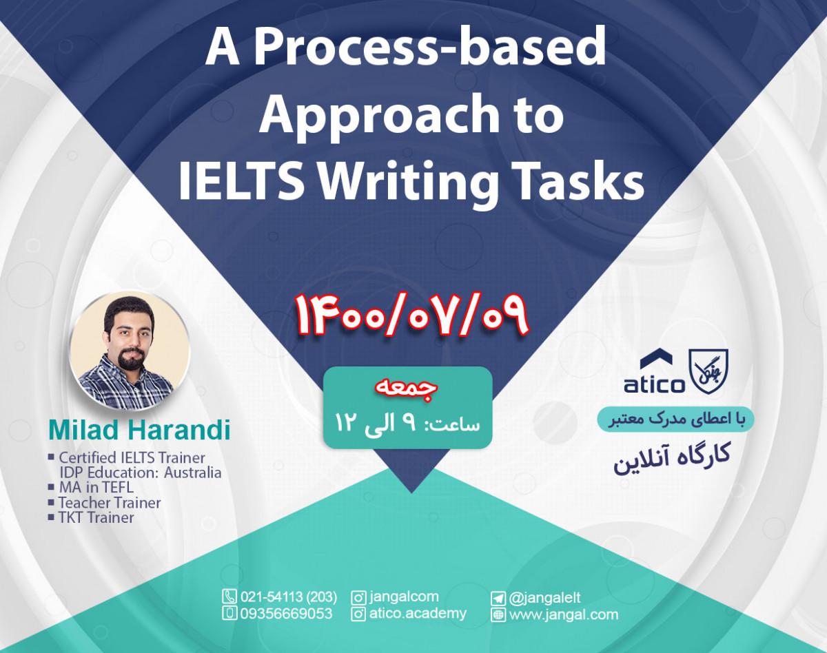 وبینار A Process-based Approach to IELTS Writing Tasks
