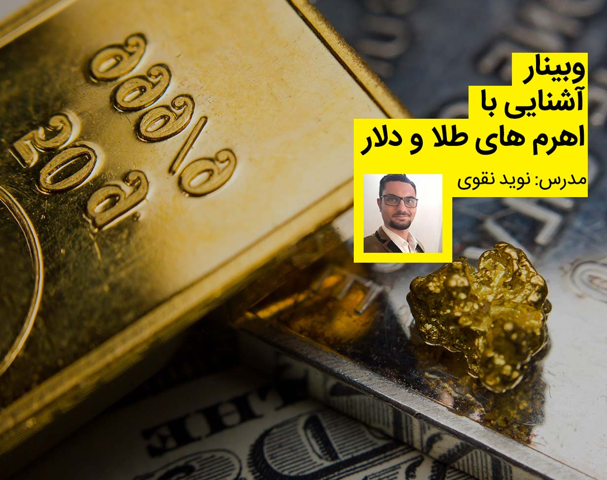 وبینار آشنایی با اهرم های طلا و دلار
