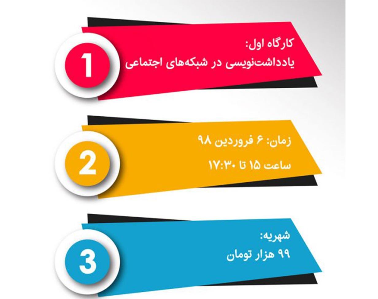وبینار یادداشتنویسی در شبکههای اجتماعی